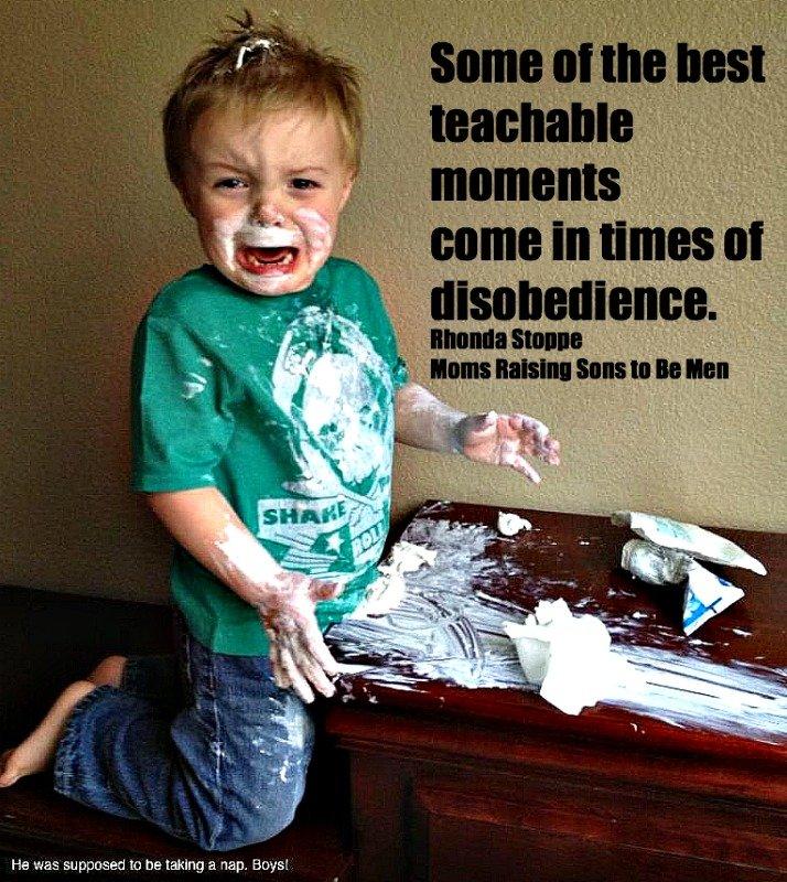 Three Steps Moms Should Follow When Kids Disobey ~ Rhonda Stoppe