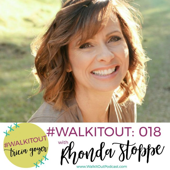 Walk it Out Podcast with Tricia Goyer & Rhonda Stoppe