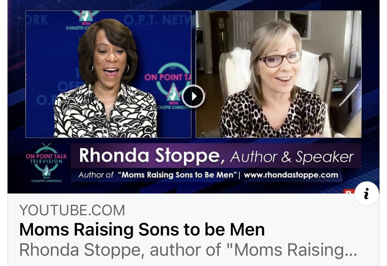 Carlette Christmas interviews Rhonda Stoppe